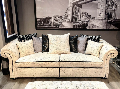 Диван для гостиной Manhattan Beige (3,5 seater) от Gascoigne Designs в наличии